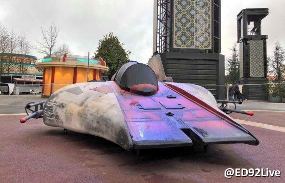 Star Wars Season of the Force Disneyland Paris A-Wing