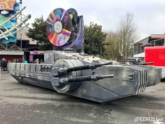 Star Wars Season of the Force Disneyland Paris Combat Assault Tank