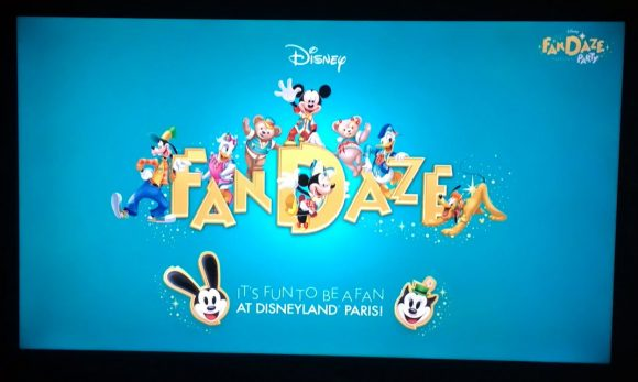 Experiencing The Disney FanDaze Inaugural Party in Disneyland Paris – From Home Via The Live Stream