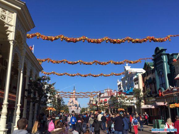 Halloween 2018 in Disneyland Paris - Decorations